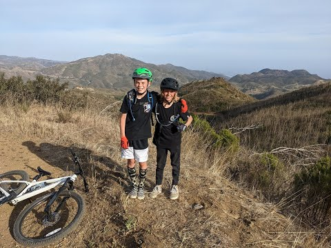 Mountain Biking the Backbone Trail, Encinal Canyon
