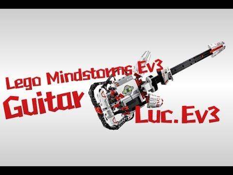 HD]Lego Mindstorms Ev3 Eletric Guitar-Luc.Ev3 - YouTube
