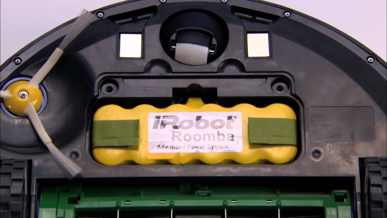 How To Remove Battery Roomba 700 Series Irobot Youtube