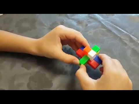 Как собрать головоломку из 6 брусков
