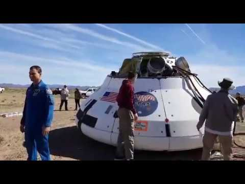 NASA Orion Spacecraft Recovery, March 8th 2017