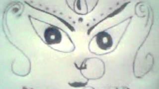 Maa Durga Draw in Guwahati