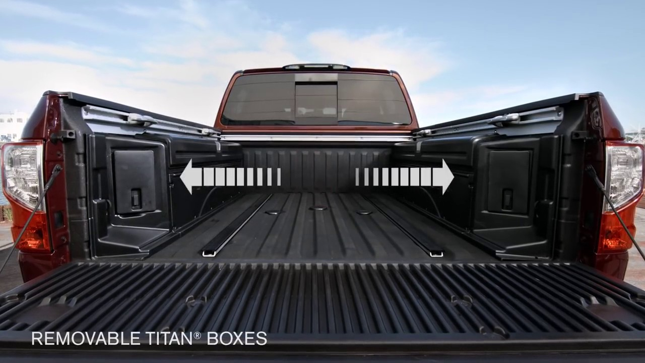 Nissan Titan Truck Bed Accessories