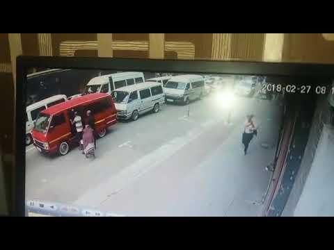 Johannesburg street robbery! Gangs