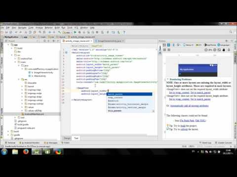 Develop simple Image Viewer app in Android Studio