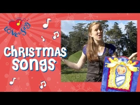 Away in a Manger Christmas Carol   Kids Christmas Song with Actions   Children Love to Sing
