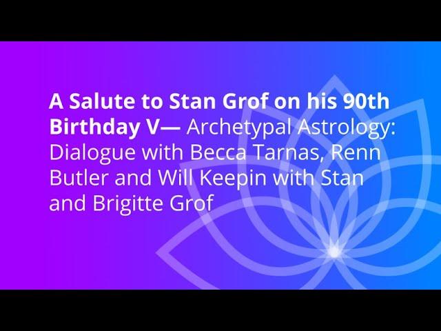 Archetypální astrologie - dialog s Beccou Tarnas a dalšími hosty