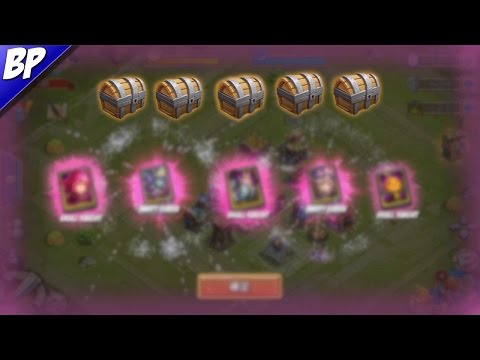All My Legendary Hero Cards Openings In Castle Clash (75 LHC)