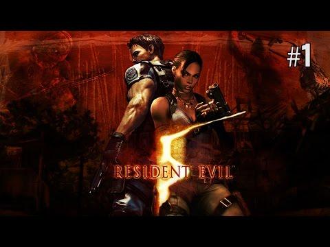 Twitch Livestream | Resident Evil 5 w/Tina Part 1 [Xbox One]