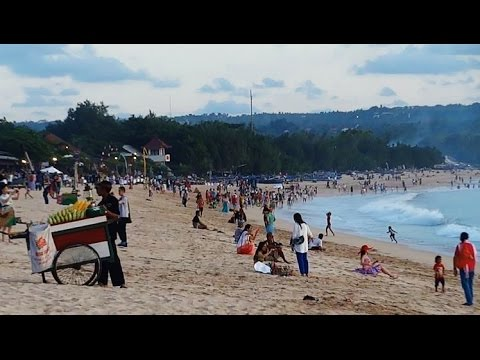 Bali Jimbaran Beach Food And Dancing Indonesia Trip 5 Youtube