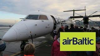 Перелет Пулково - Рига на Bombardier Q400 NextGen airBaltic