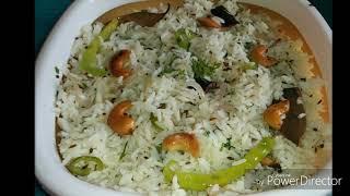 Instant Jeera Rice Recipe / Quick Rice Breakfast recipe In Kannada
