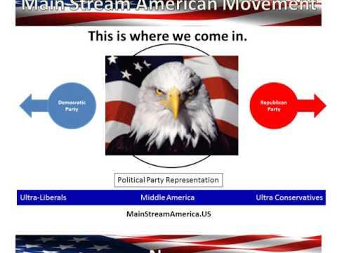 Main Stream America Movement Appeal