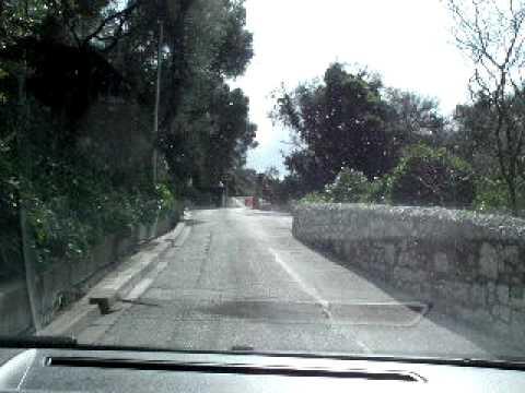 Weggetje de rots Gibraltar op..