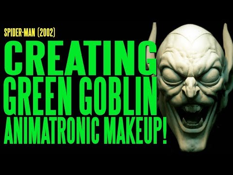 SPIDER-MAN Creating Green Goblin Animatronic Make-Up
