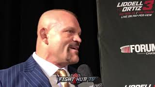 """CHUCK LIDDELL BEGS TITO TO STRIKE WITH HIM """"IT'S GONNA END EARLY!"""""""