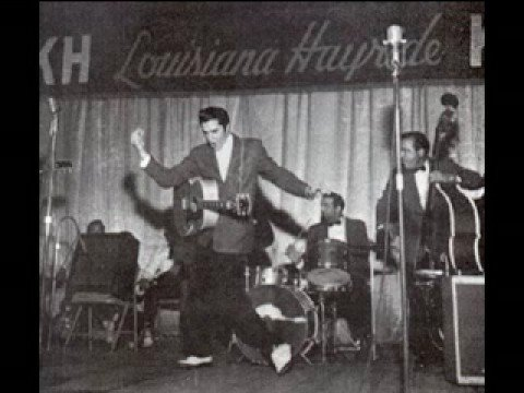 """Elvis - lousiana hayride - 1954 """" That's all right"""" - YouTube"""