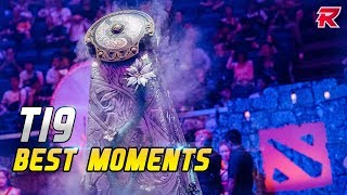 The BEST MOMENTS of The International 2019 - DOTA 2
