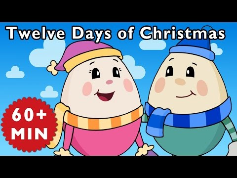 Twelve Days of Christmas and More | Nursery Rhymes from Mother Goose Club!