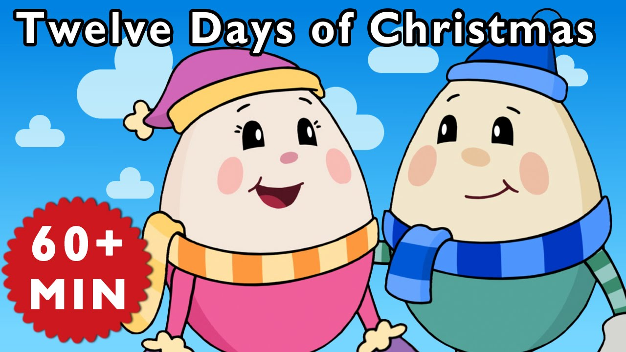 small resolution of twelve days of christmas and more nursery rhymes from mother goose club youtube