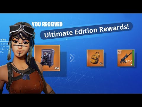 Fortnite Save The World - Founder Pack - Ultimate Edition Rewards - June 30, 2020