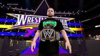 WWE 2K15: Fake Shark Real Zombie - Vancouver Shizzlies WrestleMania Entrance Attire