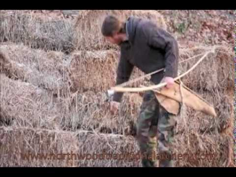 Making Primitive Archery Bows (handmade Bow And Arrow)