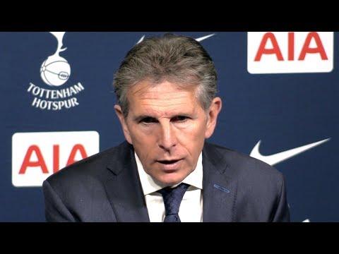 Tottenham 5-4 Leicester - Claude Puel Full Post Match Press Conference - Premier League