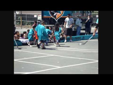 Brad Lukowich and Sharkie At Holly Oak Elementary School (part 1)