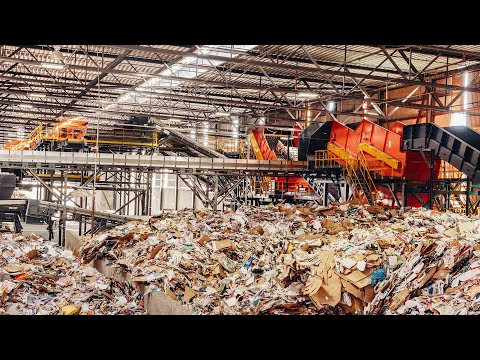 MRF System Video: Advanced Paper Recycling