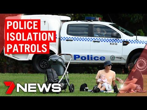 Coronavirus: NSW Police Patrol Beaches And Parks | 7NEWS