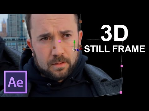 3D Frame/GIFs Tutorial [Adobe After Effects]
