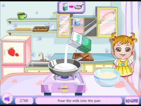 Детская игра, Малышка готовит десерт, игры для девочек