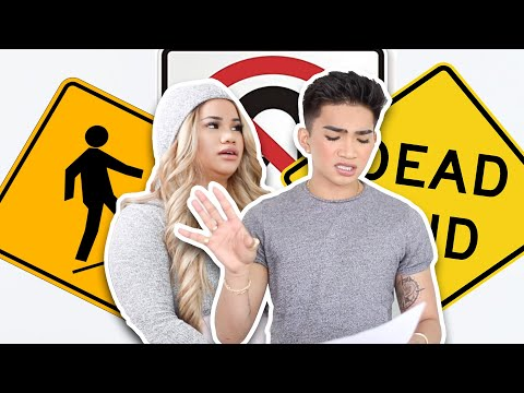 My Sister gets her Drivers PERMIT- Reviewing Rules of the Road
