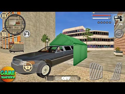 Rope Hero: Vice Town Park the Limo GamePlay ( by Naxeex LLC ) Crime Simulator Game FHD