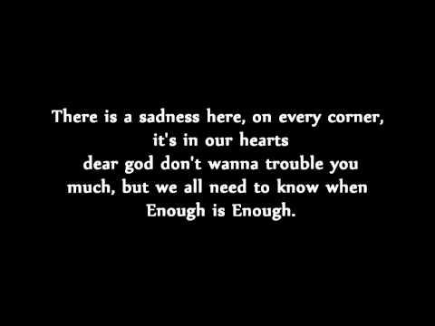 A Day to Remember - Violence [Enough is Enough] (Lyrics)
