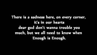 A Day to Remember - Violence [Enough is Enough] (Lyrics)