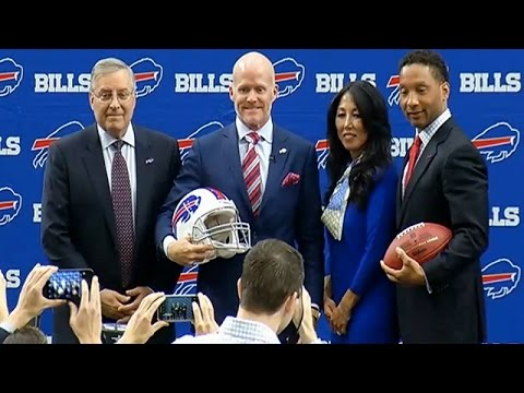 Bills introduce new head coach