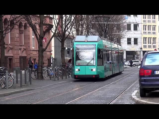 U-Bahn / Straßenbahn Frankfurt (Main) - Umleitungen / Sperrungen Sprengung AfE-Turm (02.02.2014)