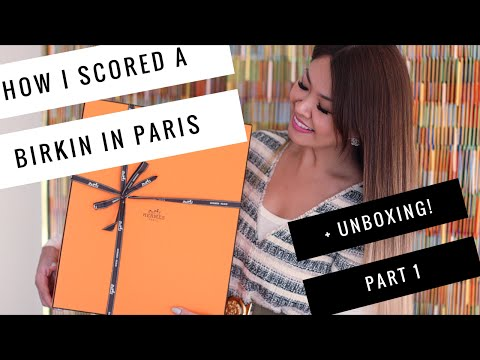 How I scored my HERMES BIRKIN in Paris| My Story & Unboxing Part 1
