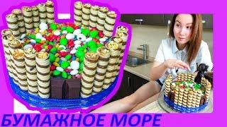 ► Света Кемер готовит необыкновенный торт с m&m's и прячет в конфетах сюрпризы