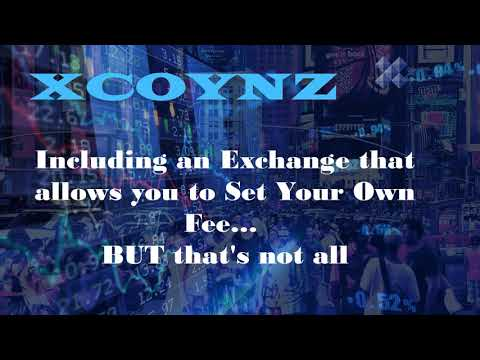 XCOYNZ – The ultimate solution for exchanging, spending and receiving payments in cryptocurrencies.