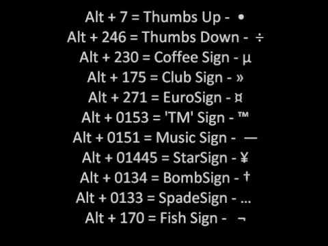 =Alt'Codes