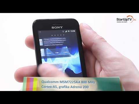 Sony Xperia Tipo - test recenzja smartfona (Android)