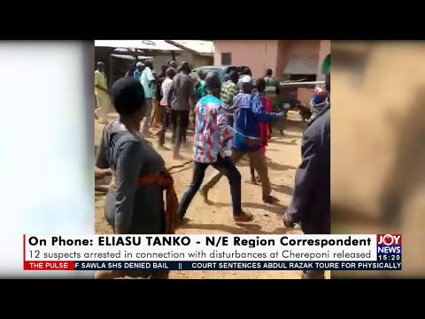 12 suspects picked up in connection with destruction of NPP constituency office (21-9-21)