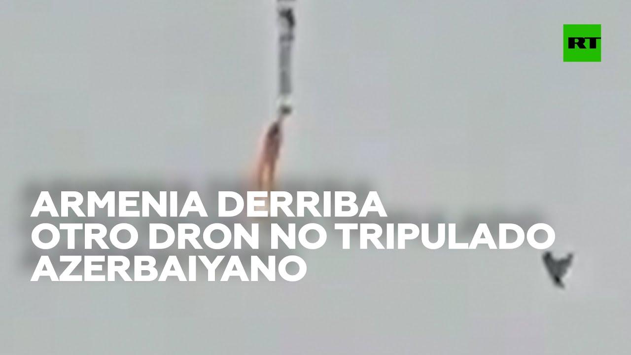 Armenia derriba otro avión no tripulado azerbaiyano