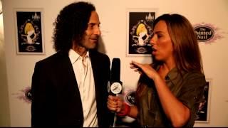 Kenny G fun interview with Bruna Rubio