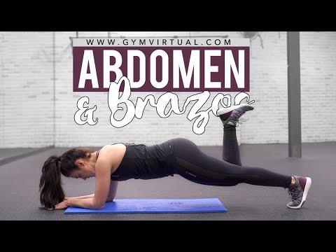 Rutina en casa | Endurecer abdomen y tonificar brazos