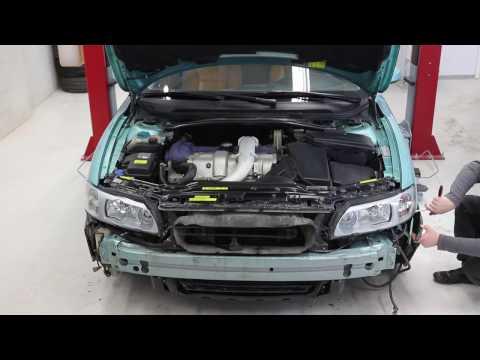 Hur du lossar stötfångare och strålkastare på Volvo V70, S60, XC70 - VPARTS.SE
