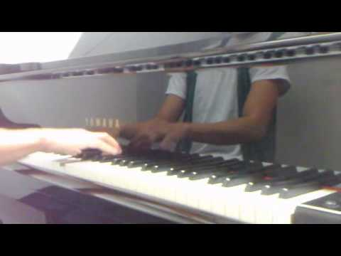 Lady Gaga Poker Face Piano Cover by the Napkin Holder